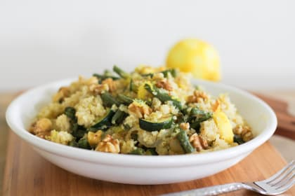 Roasted Summer Vegetable Quinoa Salad: Healthy and Hearty