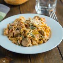 Sausage Spinach Pasta Recipe