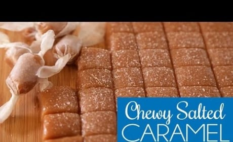 How to Make Salted Caramel Squares