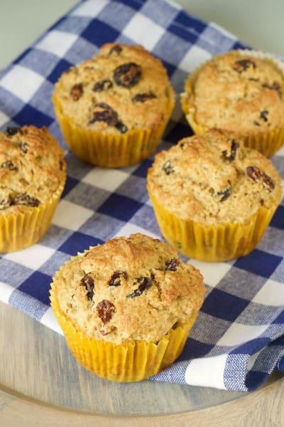 Rum Raisin Muffins Image