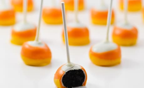 Candy Corn Oreo Pops Recipe