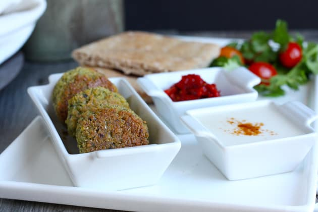 Baked Falafel Photo