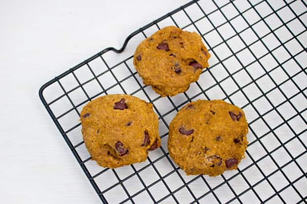 Whole Wheat Pumpkin Chocolate Chip Cookies Picture