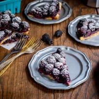Bourbon Blackberry Jam Bars Recipe
