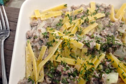 Ground Beef Stroganoff: Delicious Every Day Fare
