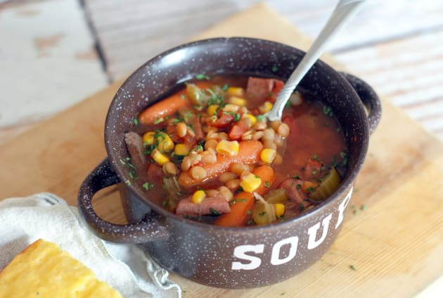 Slow Cooker Ham Soup Picture