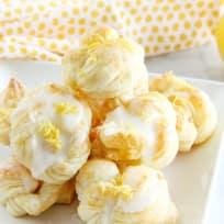 Puff Pastry Lemon Knots Recipe