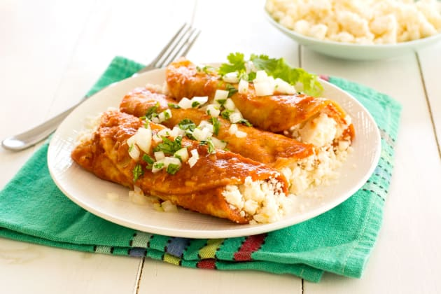 Queso Fresco Enchiladas Photo