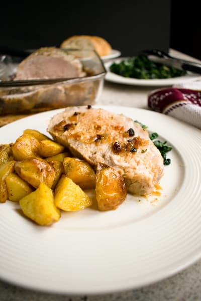 Roasted Pork Loin with Rosemary and Garlic Pic