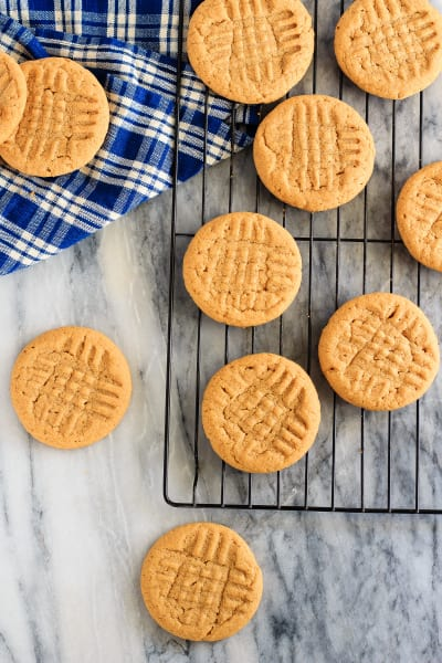 3 Ingredient Peanut Butter Cookies Image