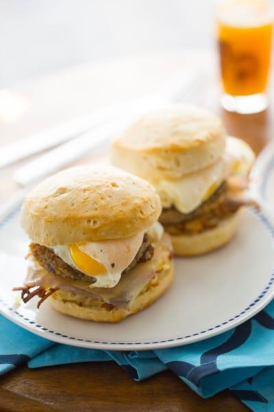 Goetta Breakfast Sandwich Image
