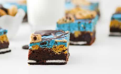 Cookie Monster Brownies Recipe