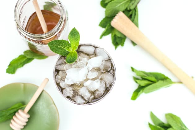 Honey Whiskey Mint Julep Photo