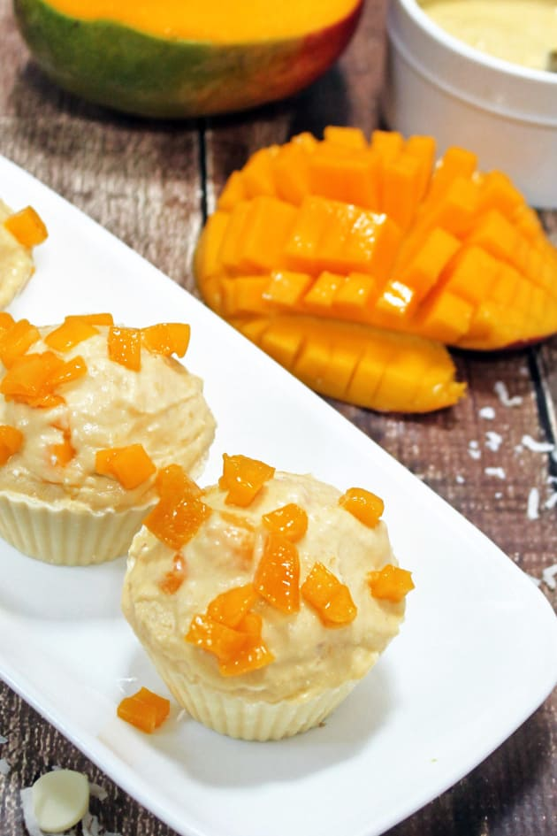 Mango Coconut Pudding Picture