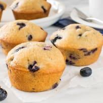 Blueberry Chai Muffins Recipe