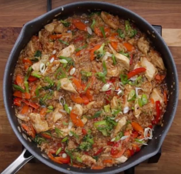 One-Pot Chicken Teriyaki and Rice