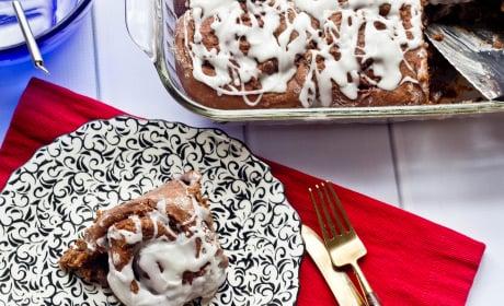 Chocolate Cinnamon Rolls Photo