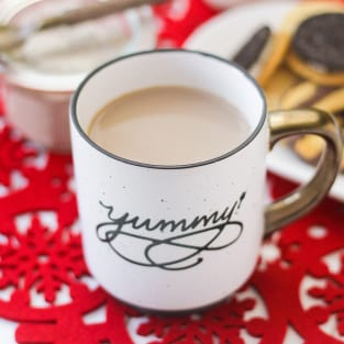 Rumchata chai latte photo