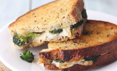 Toaster Oven Grilled Cheese Sandwich Recipe