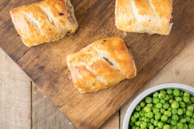Homemade Sausage Rolls Image