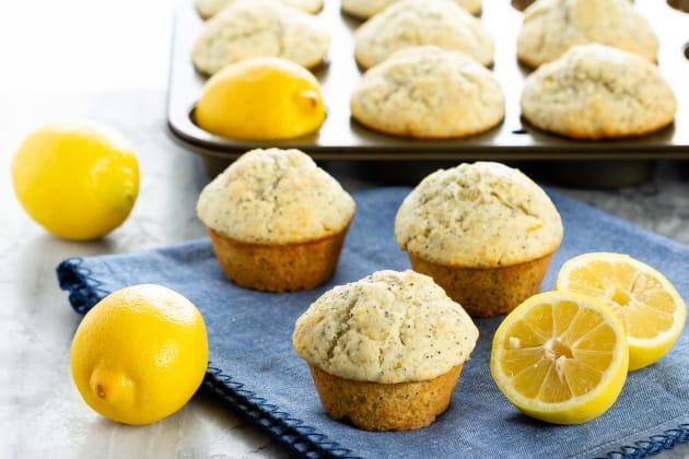 Lemon Poppy Seed Muffins Photo