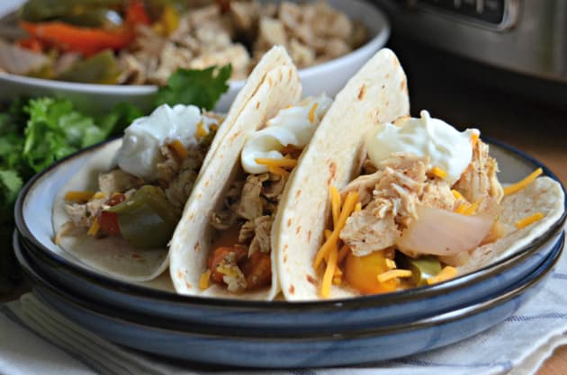Slow Cooker Chicken Fajitas Photo