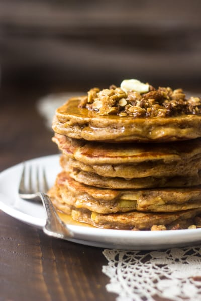 Whole Wheat Apple Pancakes Pic