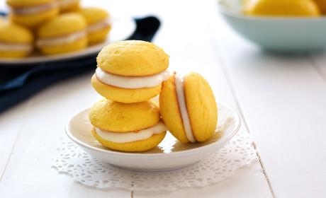 Lemon Ricotta Sandwich Cookies