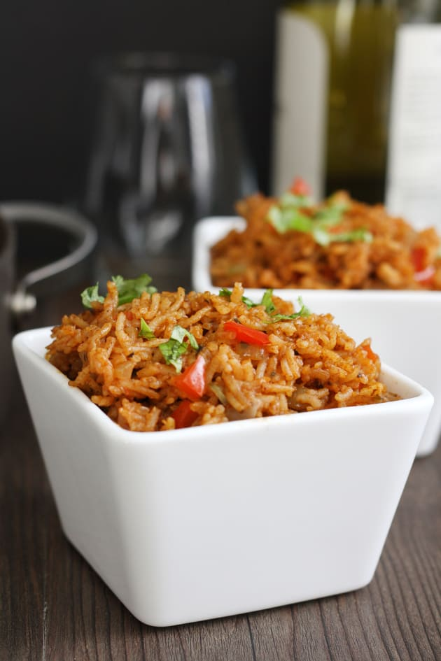 Restaurant Style Mexican Rice Picture