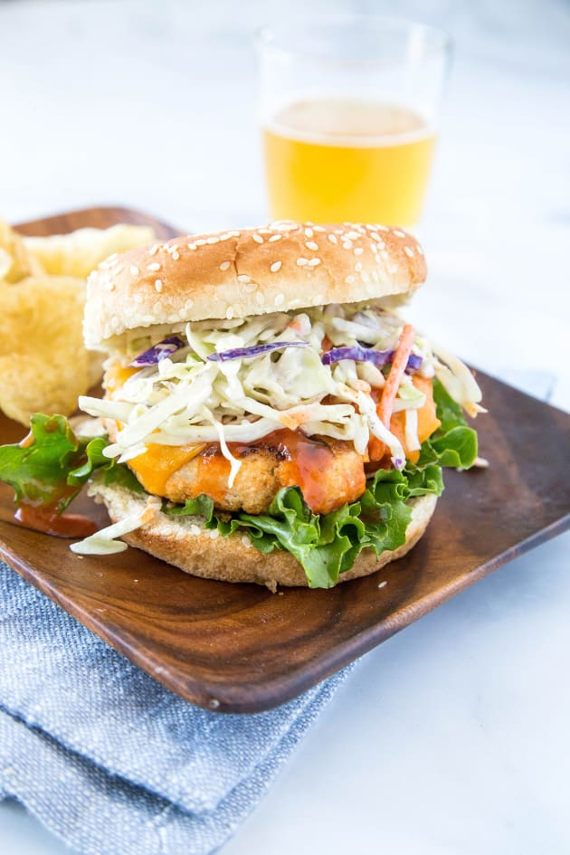 Buffalo Chicken Burger Picture