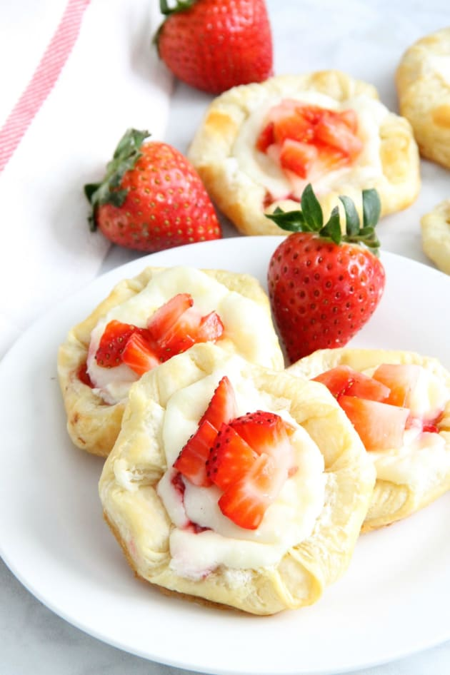 Strawberry Cream Cheese Danish Picture