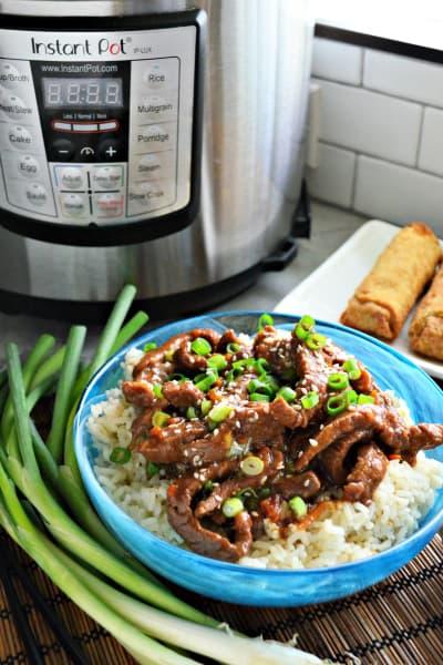 Instant Pot Mongolian Beef Image