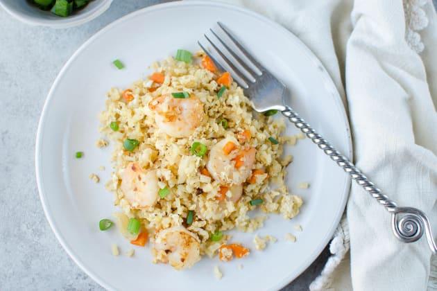 Paleo Shrimp Fried Rice Photo