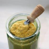 Honey Serrano Balsamic Mustard with Lemon Olive Oil