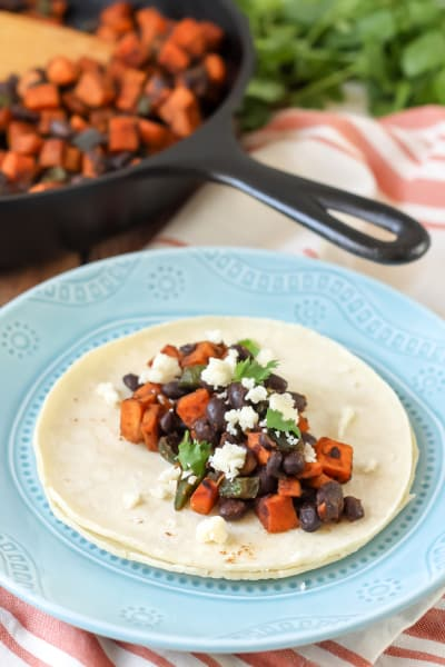 Sweet Potato Tacos Picture