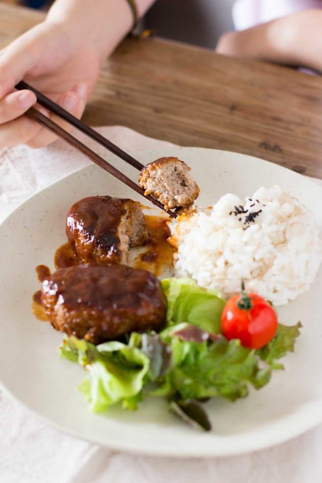 Japanese Tofu Hamburger Picture