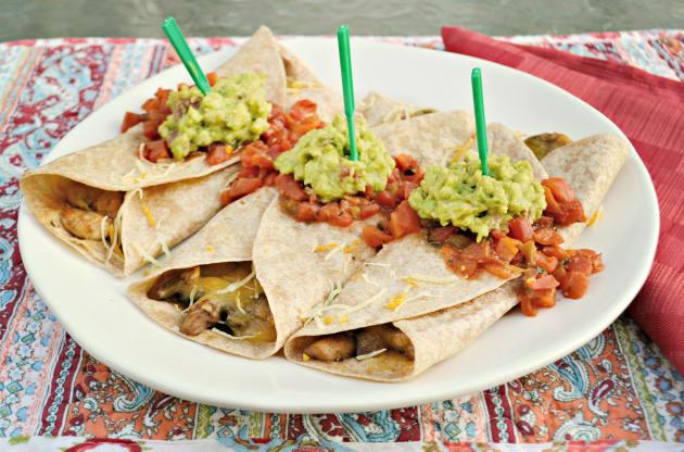Vegetarian Burrito Photo