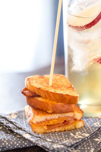 Apple Butter Grilled Cheese Picture