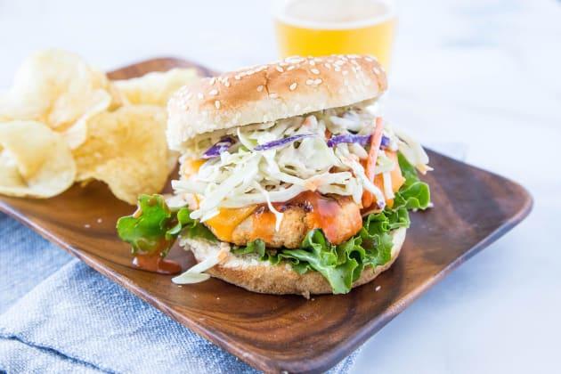 Buffalo Chicken Burger Photo