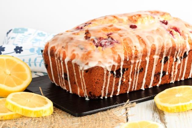 Glazed Raspberry Lemon Bread Photo