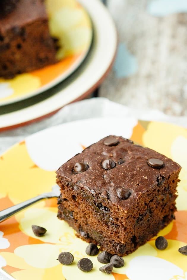 Healthy Chocolate Banana Snack Cake Picture