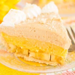 Banana pudding peanut butter pie photo
