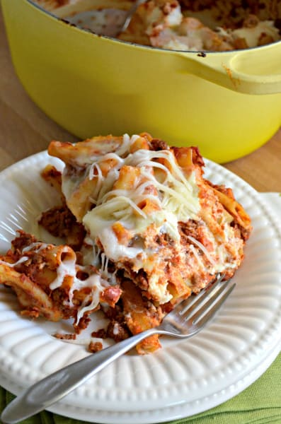 One Pot Baked Ziti Picture