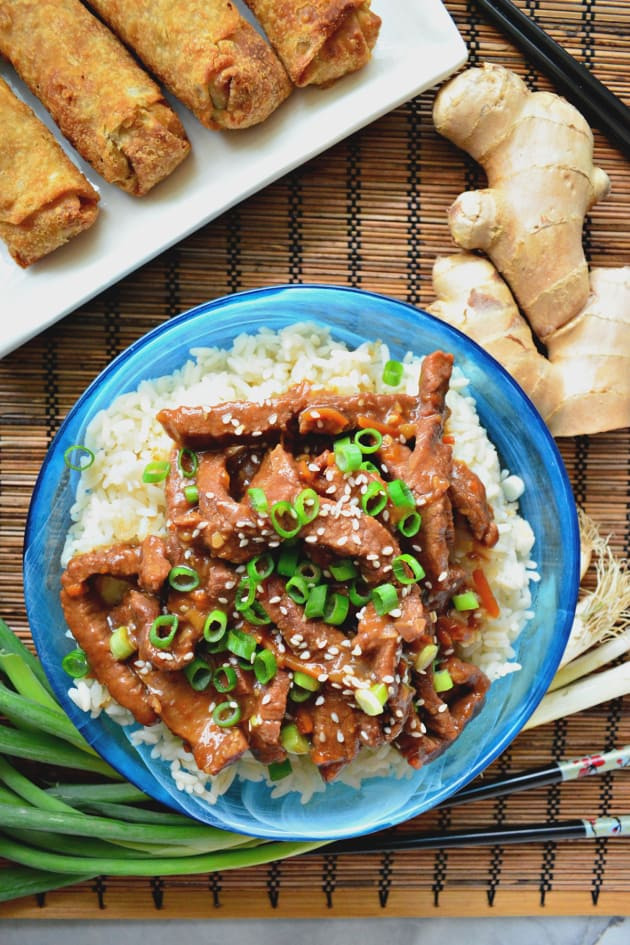 Instant Pot Mongolian Beef Pic