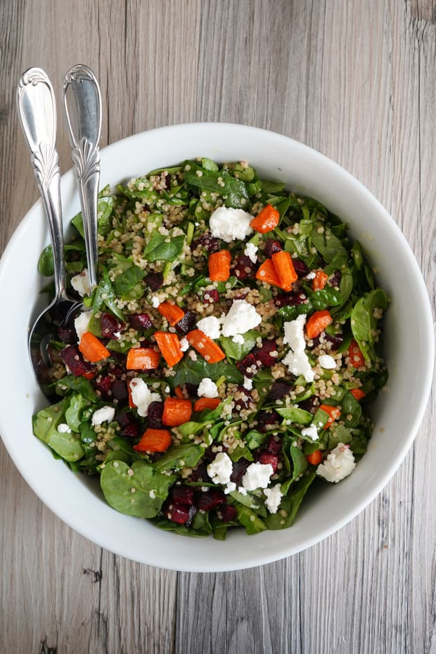 Roasted Beet and Carrot Quinoa Salad Image