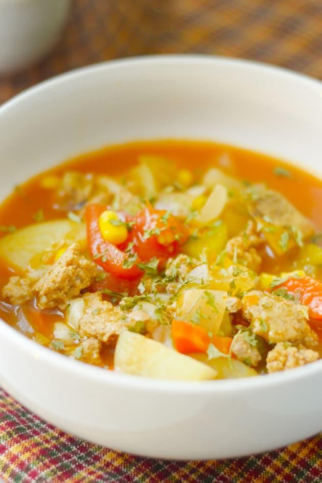 Gluten Free Instant Pot Vegetable Soup Picture