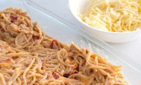 Chicken Spaghetti Bake Picture