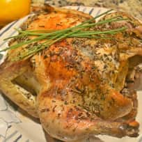 Lemon Rosemary Roast Chicken Recipe