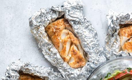 Cajun Grilled Cod Pic