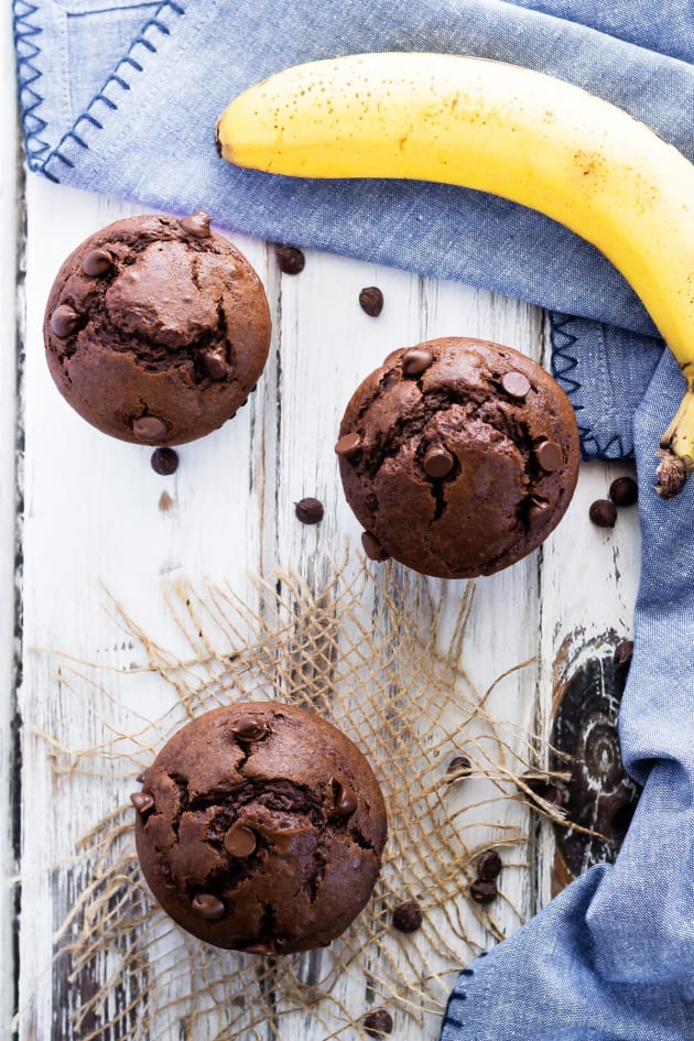 Chocolate Banana Muffins Picture